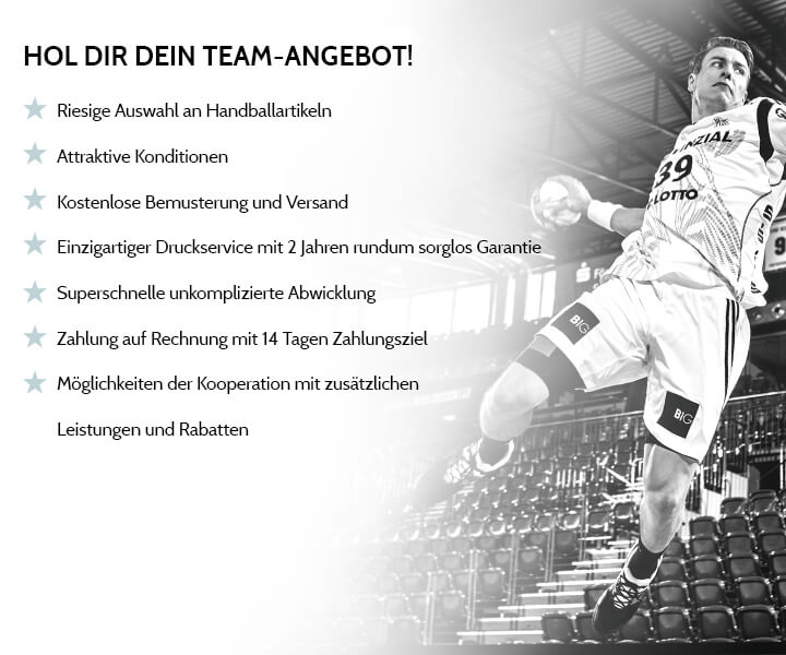 HOL DIR DEIN TEAM-ANGEBOT!